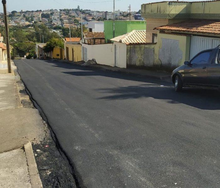 Itaúna Domingos Sávio asfalto